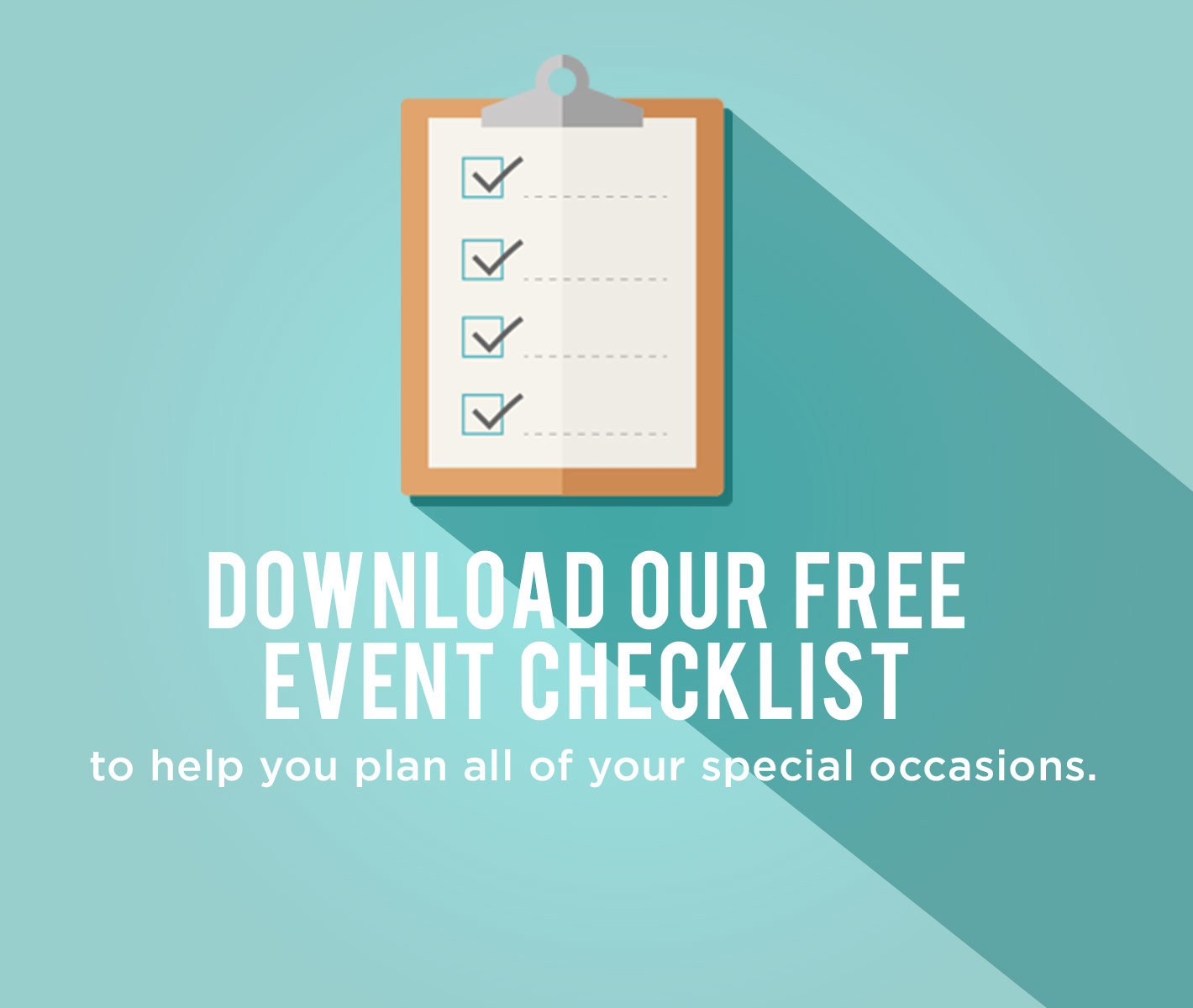 Download our event checklist.
