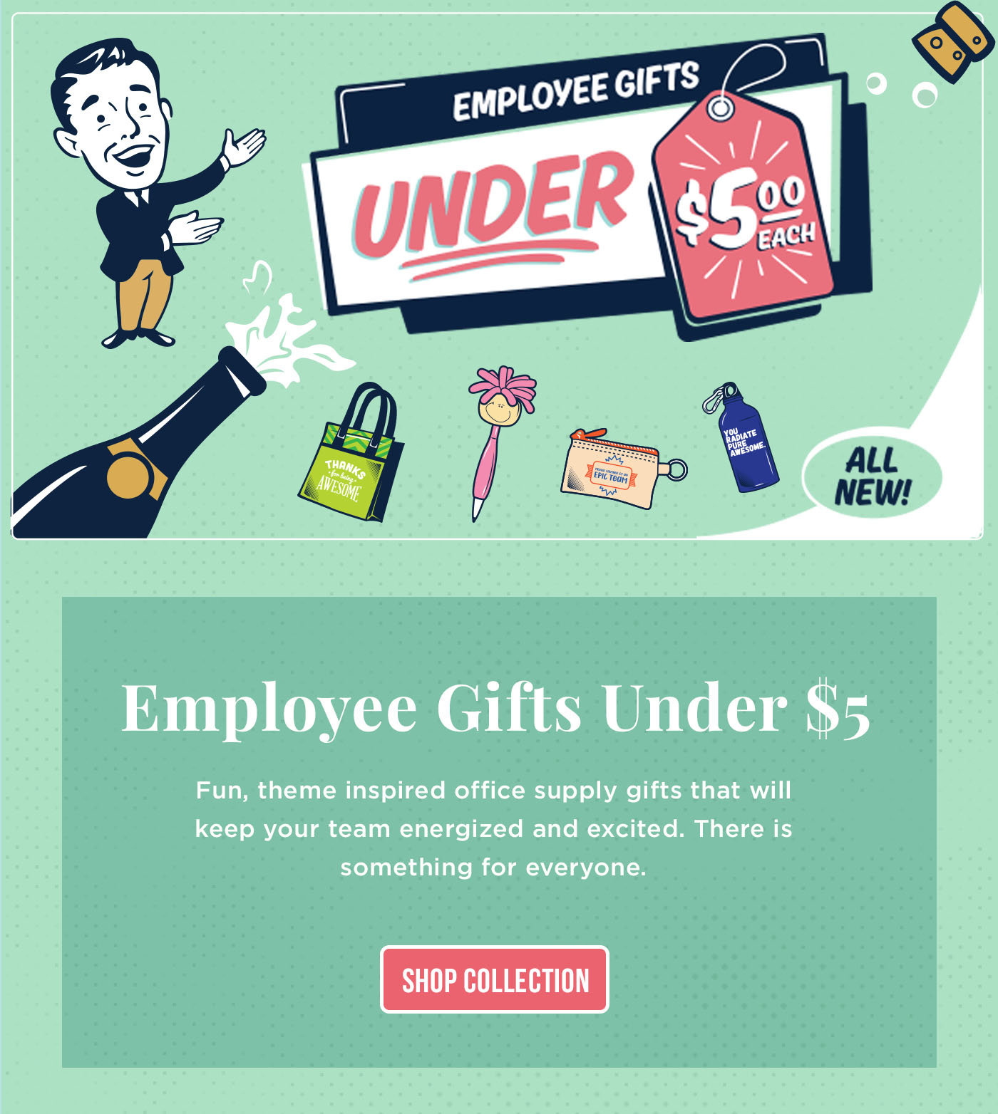 Employee Gifts Under $5