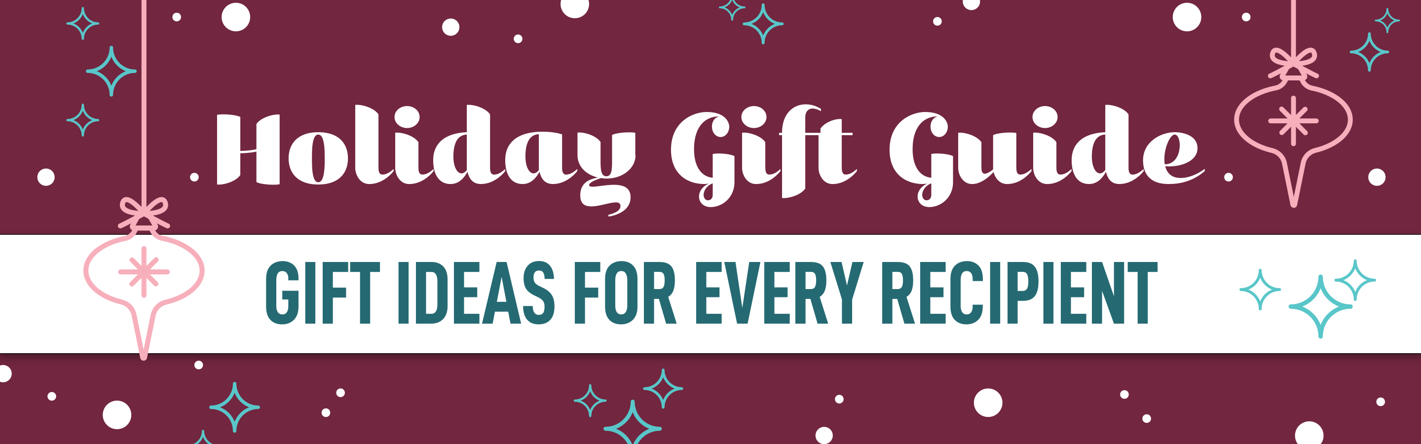 Baudville Gift Guides for every recipient