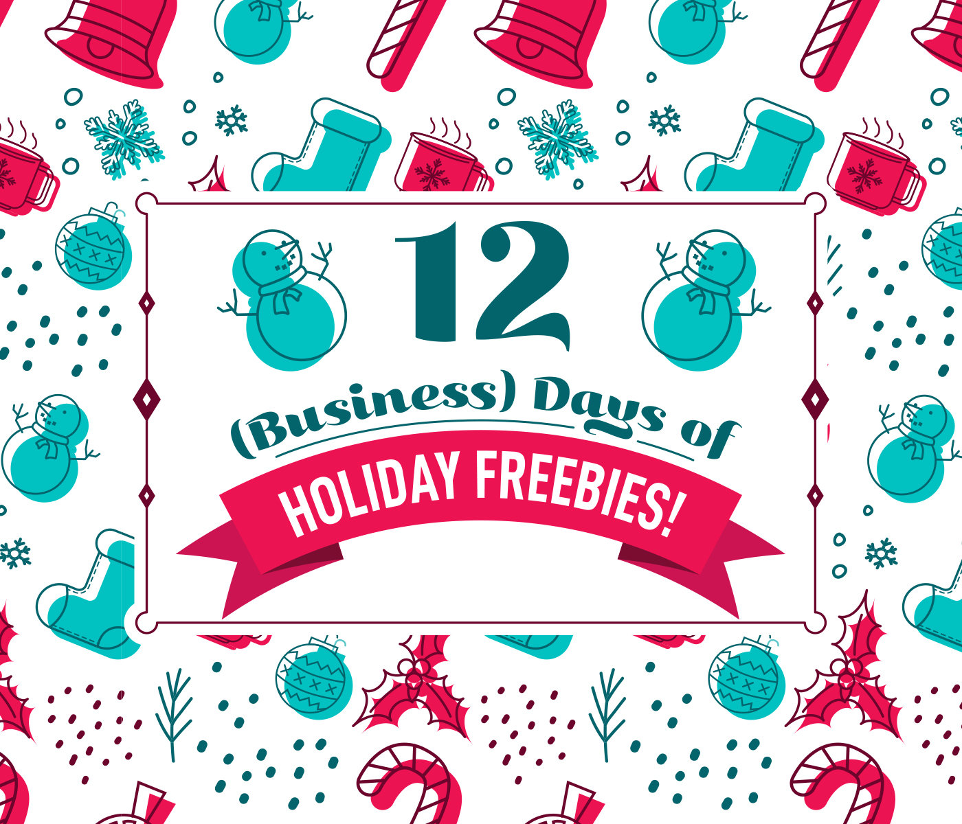 Check out 12 days of freebies at baudville.com