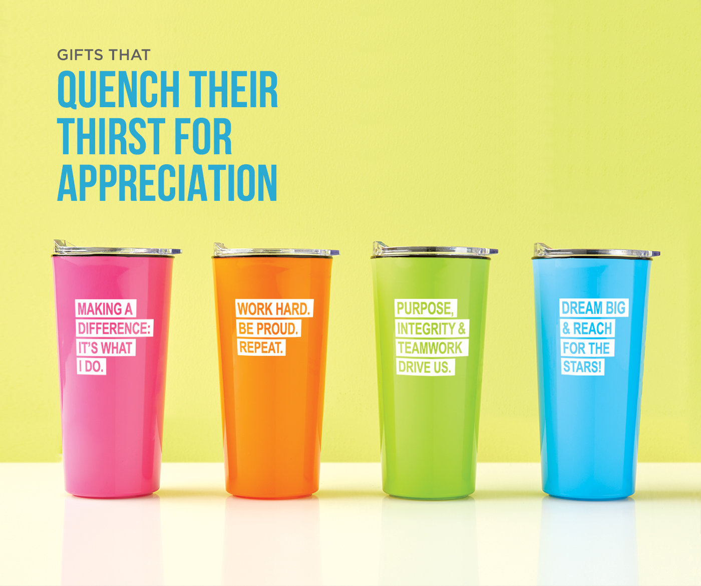 Shop Drinkware Gifts that quench their thirst with Baudville.com
