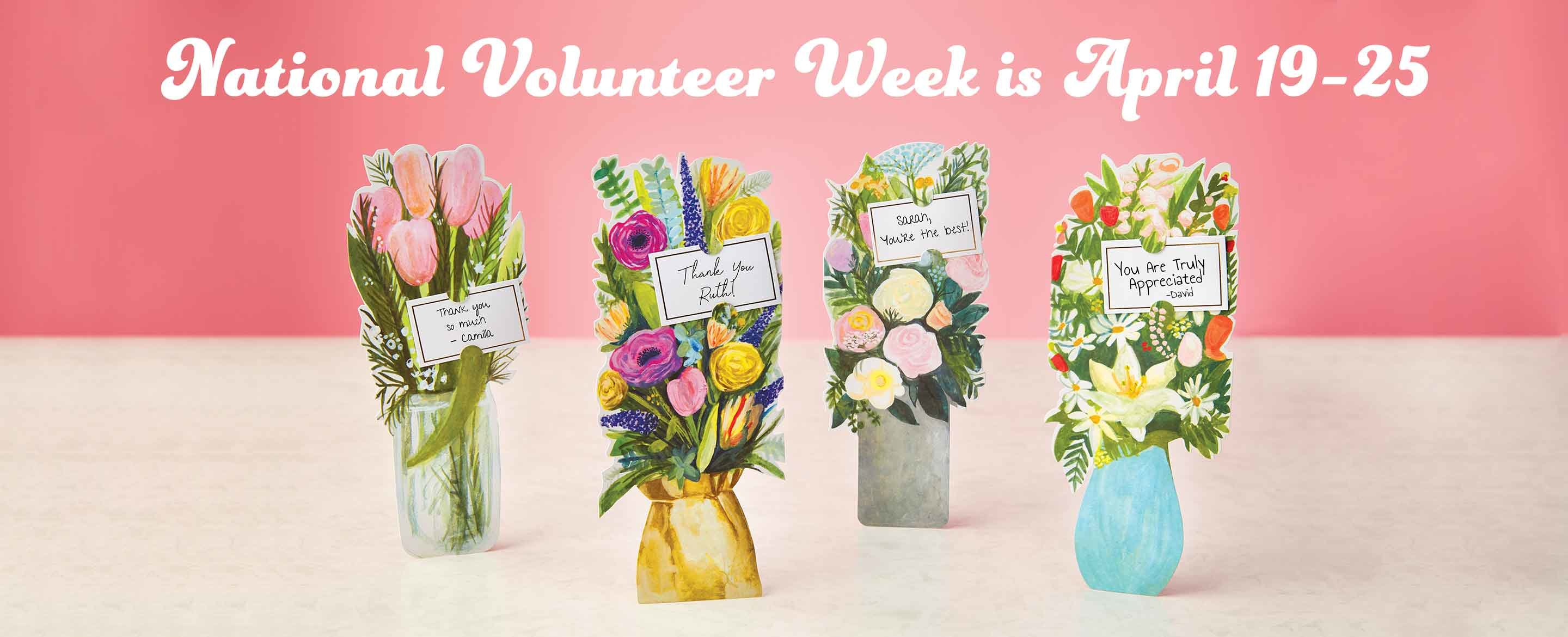 National Volunteer Week Gifts From Baudville