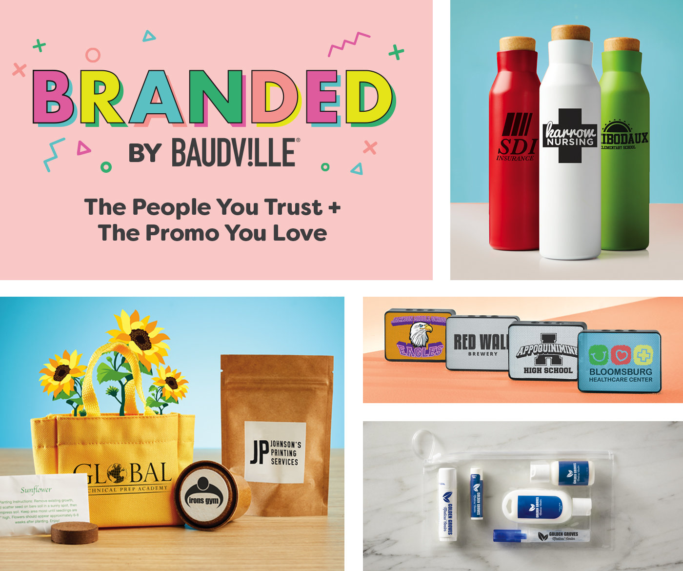 Baudville promotional items category mobile