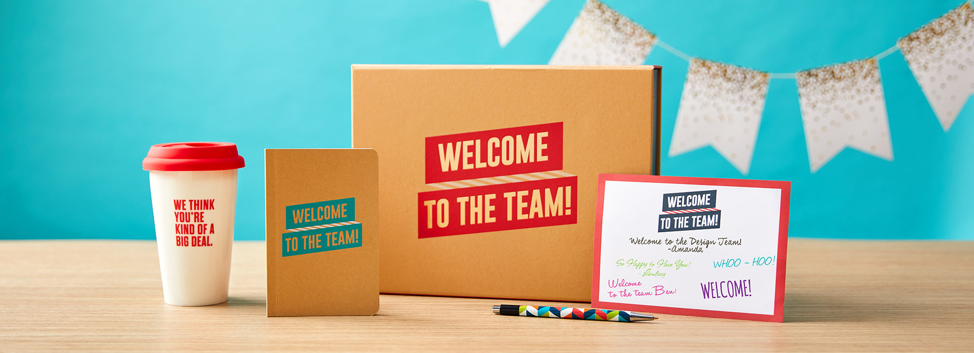 Onboarding gifts